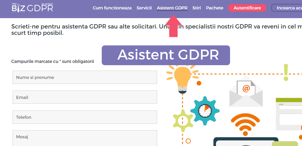 Asistent GDPR